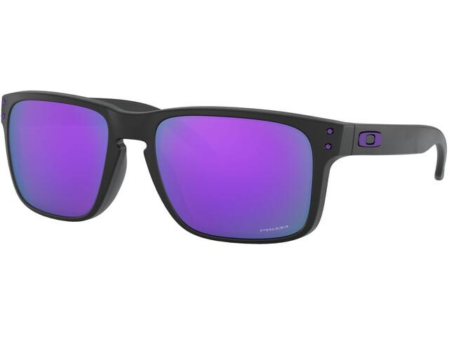 Oakley Holbrook Sunglasses Men matte black/prizm violet